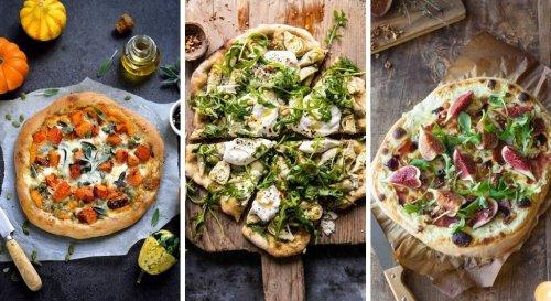 Recettes pizza : 15 idées de pizzas aussi jolies qu'absolument délicieuses !
