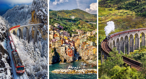 Tendances touristiques 2021 : top 9 des plus beaux voyages en train à faire pour découvrir l'Europe