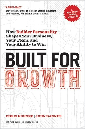Built for Growth: How Builder Personality Shapes Your Business, Your Team, and Your Ability to Win ^ 10117