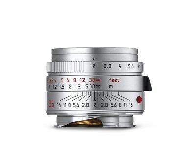 Leica Summicron-M 35mm f/2 ASPH. Silver