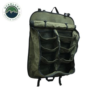21139941 Camping Storage Bag #16 Waxed Canvas