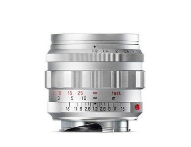 Leica Noctilux-M 50 f/1.2 ASPH. Silver Chrome