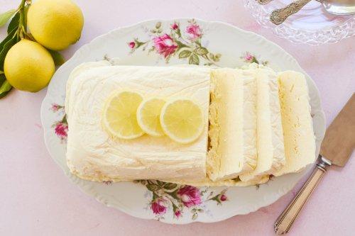 Fresh & Sweet Lemon Semifreddo - Gemma's Bigger Bolder Baking