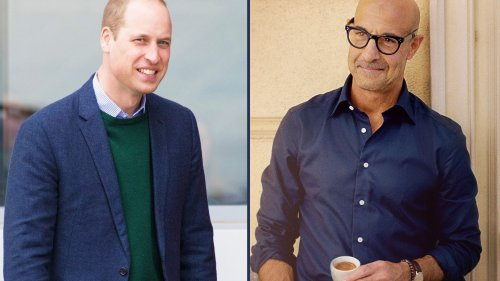 Stanley Tucci fans declare war on Prince William!
