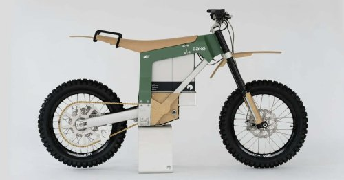 Güneş Enerjisiyle Şarj Edilebilen Arazi Motosikleti