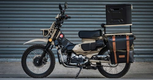 Smol wonder: A Honda CT125 inspired by Mad Max