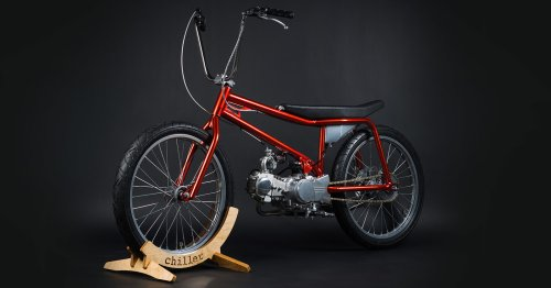 Chiller: A BMX-style moped from Saint Petersburg