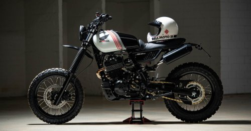 The Sequel: Another Honda Dominator from HB-Custom