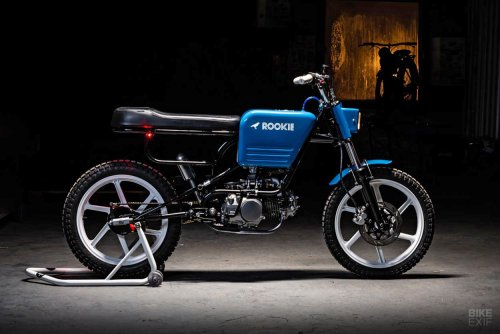 ROOKie: A street scrambler with an 80s BMX vibe | Bike EXIF