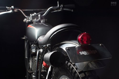 Second wind: A Yamaha DT175 reconfigured for the road