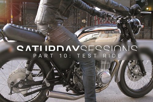 Motorcycle restoration: the test ride