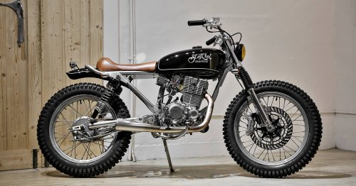 Fine Wolf: A suave SYM 150 commuter from 2LOUD