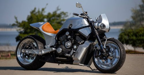 Ukrainian Muscle: A supercharged Harley V-Rod from Kyiv