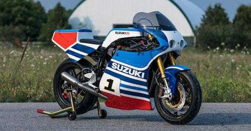 Spirit of 69: dB Customs' Suzuki XR69 race replica