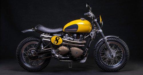 Not so mellow yellow: A Triumph Scrambler from FCR