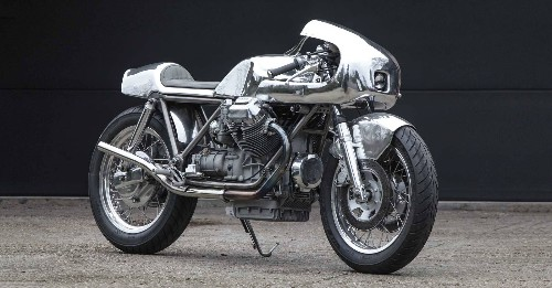Master of Metal: Shiny Hammer's Moto Guzzi 1000SP