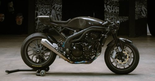 Return to form: Workhorse revives a Speed Triple 1050