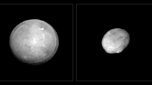 Bilder geben Hinweise  zu Herkunft von Asteroiden