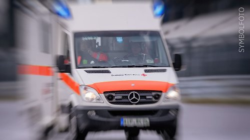 Not-Kaiserschnitt bei Schwangerer, Fahrer tot