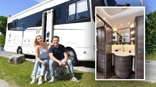 Hauptwohnsitz: Luxus-Wohnmobil!