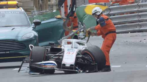 Auto schrott! Mega-Crash von Mick