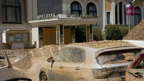 Diebe räumen Spielbank nach Flutkatastrophe aus