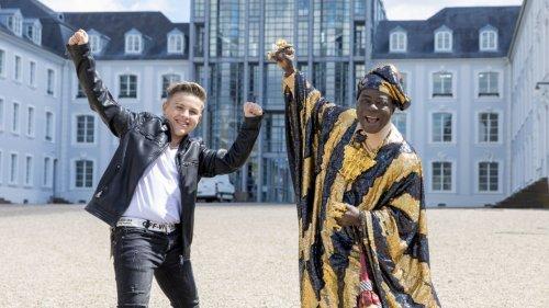 Hier dreht der König von Ghana ein Musik-Video