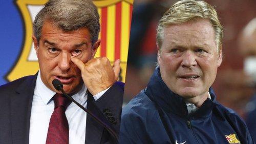 Nach Koemans Provokanz-PK – so reagiert der Barça-Boss