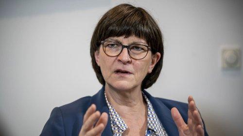SPD-Chefin Esken kanzelt Rentner (77) ab