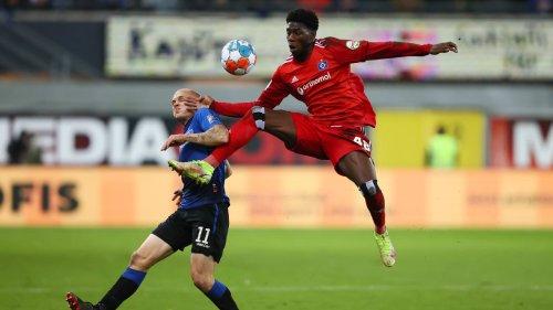 HSV-Fans feiern ganz starken Alidou