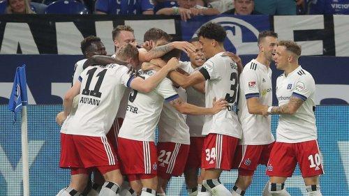 Auftakt-Gala vom HSV auf Schalke - HIER im Video!
