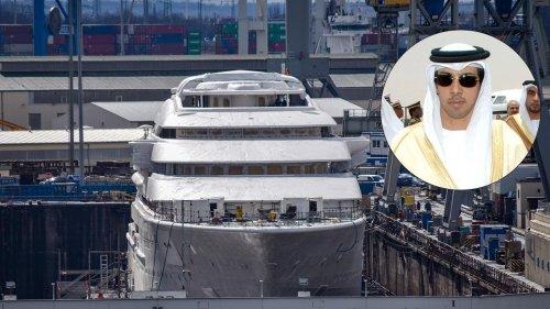 Gold-Scheich gönnt sich 300-Mio.-Yacht
