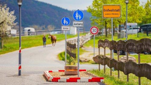 Das ist der womöglich kürzeste Fußweg Deutschlands