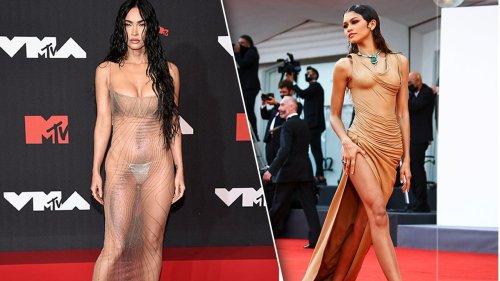 Nackt ist das neue In-Kleid