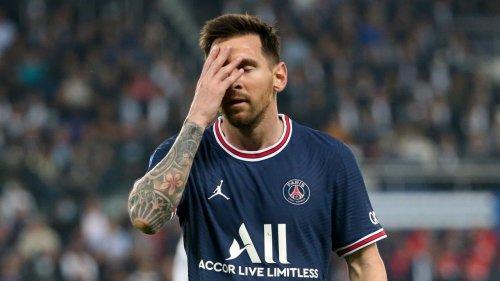 Messi total gefrustet in Paris