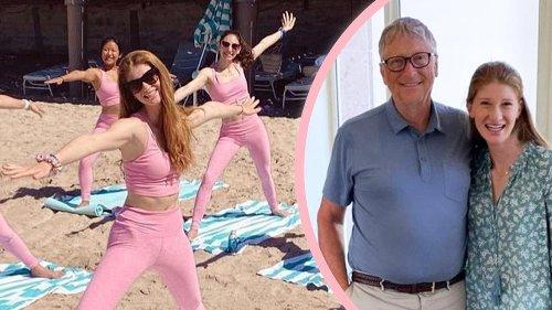 Bill Gates' Tochter feiert Bachelorette-Party