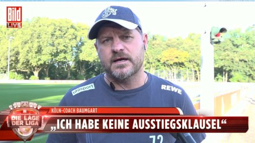 Was Baumgart zu  einem Bayern-Job sagt