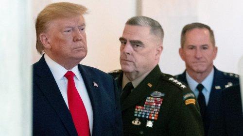 Top-General schränkte Trumps Zugriff auf Atomwaffen ein