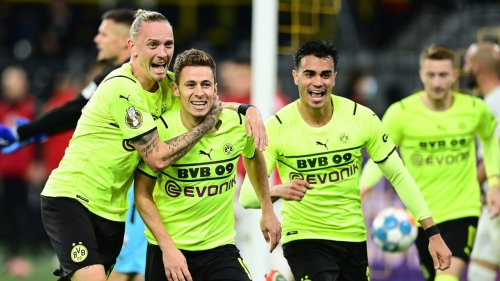 Blitz-Doppelpack erlöst Dortmund