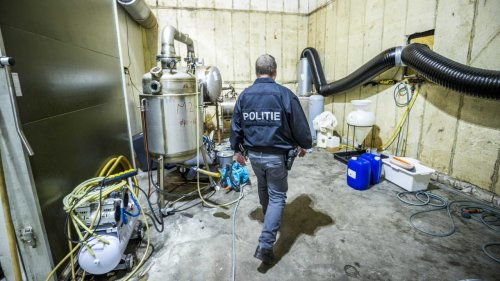 Riesiges Drogenlabor an deutscher Grenze entdeckt