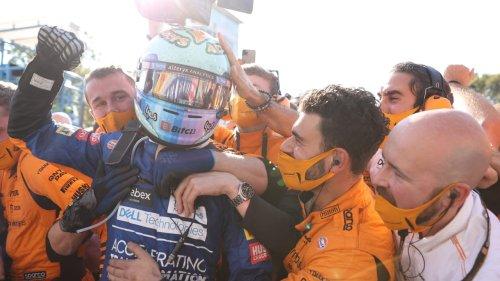 McLaren-Party nach Doppel-Sieg