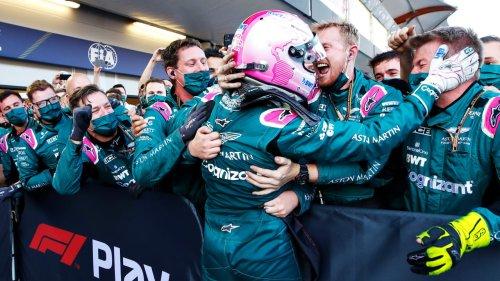Reifen-Wahnsinn in Baku! Vettel rast auf Platz 2 – Hamilton patzt