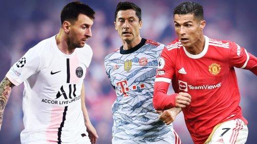Die zehn bestbezahlten Fußballer der Welt!