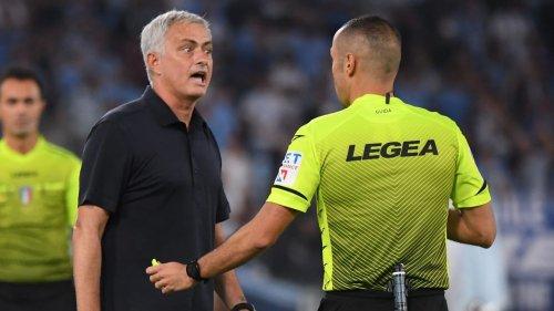 """José Mourinho tobt: """"Schiebt euch diese Regeln in den Ar***"""""""