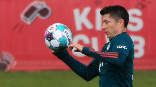 Lewandowski  wieder am Ball!