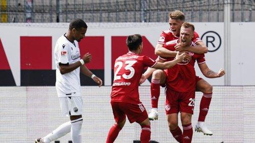 Schreck-Moment bei Düsseldorf-Sieg!