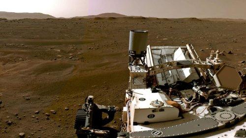 Rover sucht nach Spuren vom Leben auf dem Mars