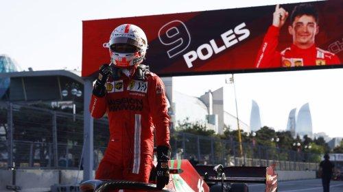Ferrari crasht sich wieder zur Pole