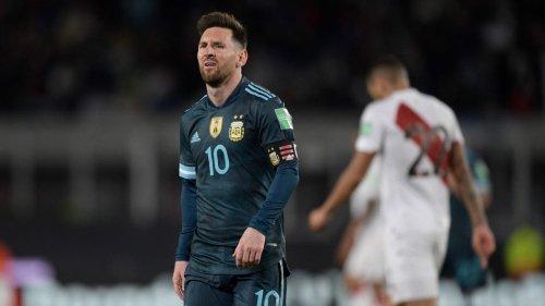 Alle hauen auf Messi drauf