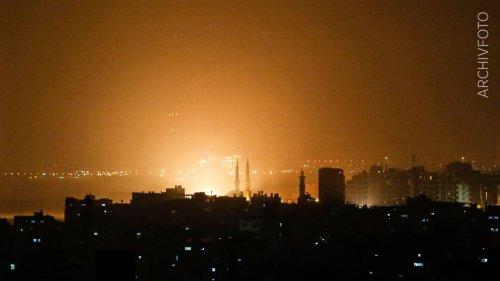 Israel bombardiert  Terror-Ziele in Gaza